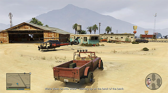 Trevor needs to reach the airport with Lester - 58: Surveying the Score - Main missions - Grand Theft Auto V Game Guide