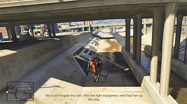 Fly under one of the bridges - 58: Surveying the Score - Main missions - Grand Theft Auto V Game Guide