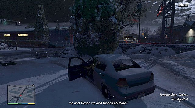 Michaels car - 59: Bury the Hatchet - Main missions - Grand Theft Auto V Game Guide