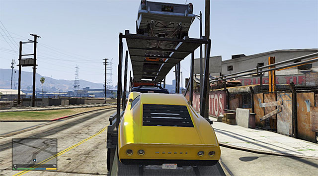The platform trailer - 60: Pack Man - Main missions - Grand Theft Auto V Game Guide