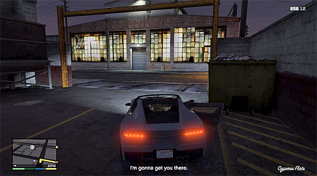 The car that you could use to escape - 61: Fresh Meat - Main missions - Grand Theft Auto V Game Guide