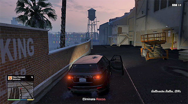 The SUV that you need to use for the pursuit - 62: The Ballad of Rocco - Main missions - Grand Theft Auto V Game Guide
