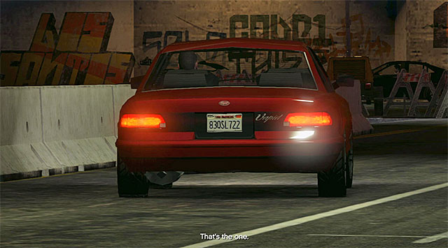 Your task is to identify the car belonging to the janitor, and its plate number is 83QSL722 - 63: Cleaning Out the Bureau - Main missions - Grand Theft Auto V Game Guide