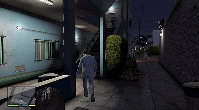 Wait for the janitor to enter his apartment and join him - 63: Cleaning Out the Bureau - Main missions - Grand Theft Auto V Game Guide