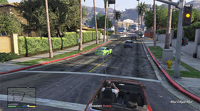 Keep shooting at Averys car - Closing the Deal - Strangers and Freaks missions - Grand Theft Auto V Game Guide