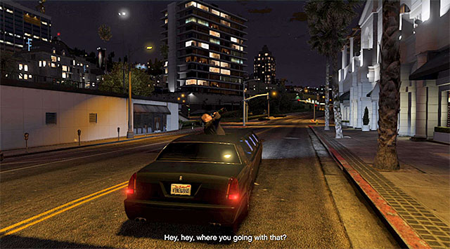 The limo ride - 73: Meltdown - Main missions - Grand Theft Auto V Game Guide