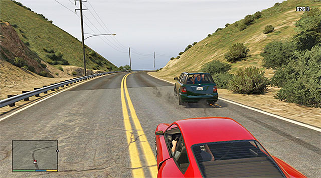 Lay down fire on the car but do not wound any of the passengers - Additional mission: Parenting 101 - Main missions - Grand Theft Auto V Game Guide