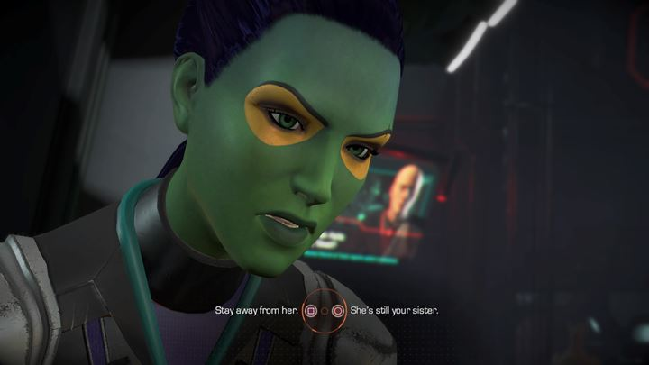 The second major choice appears shortly after the first one - Important choices | Episode 1 - Tangled Up in Blue - Episode 1 - Tangled Up in Blue - Marvels Guardians of the Galaxy: The Telltale Series Game Guide