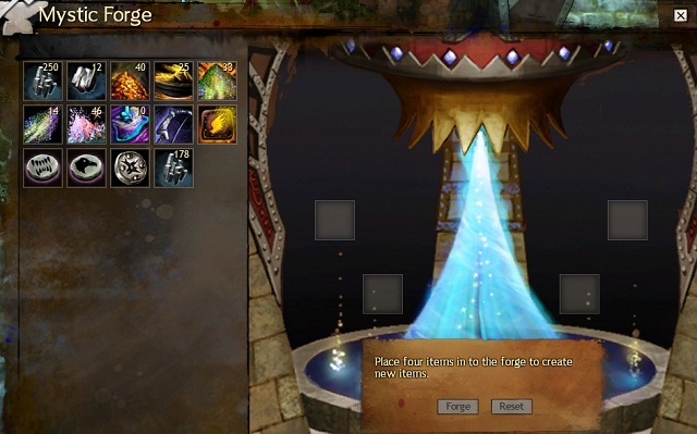 Mystic Forge Crafting Guild Wars 2 Game Guide Gamepressurecom