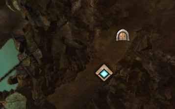 Entrances to the undergrounds lies often nearby the navigation points. - Undergrounds - Basics - Guild Wars 2 - Game Guide and Walkthrough