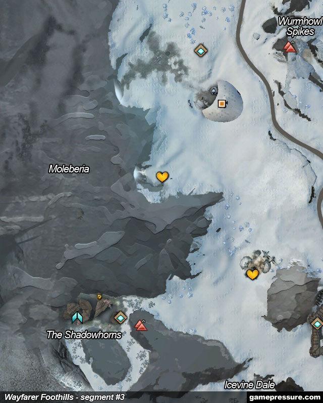 Wayfarer Foothills Map Wayfarer Foothills | Maps   Guild Wars 2 Game Guide | gamepressure.com