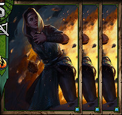 Dol Blathanna Trapper x3 - ScoiaTael | Premade decks - Premade decks - Gwent: The Witcher Card Game Guide