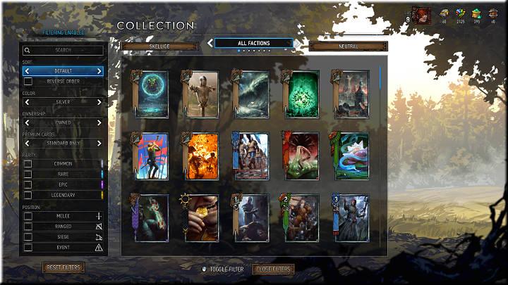 Las tarjetas de plata son más valiosas que las de bronce y también tienen habilidades únicas adicionales - Grupos de tarjetas |  Tipos de tarjetas - Tipos de tarjetas - Gwent: The Witcher Card Game Guide