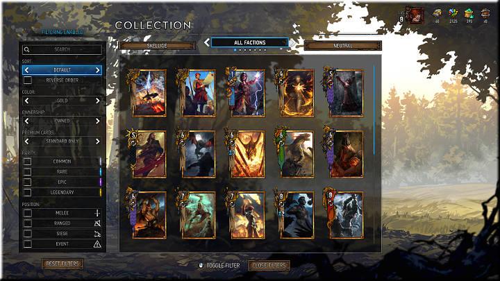 Las tarjetas de oro tienen sus propias reglas - Card Group |  Tipos de tarjetas - Tipos de tarjetas - Gwent: The Witcher Card Game Guide
