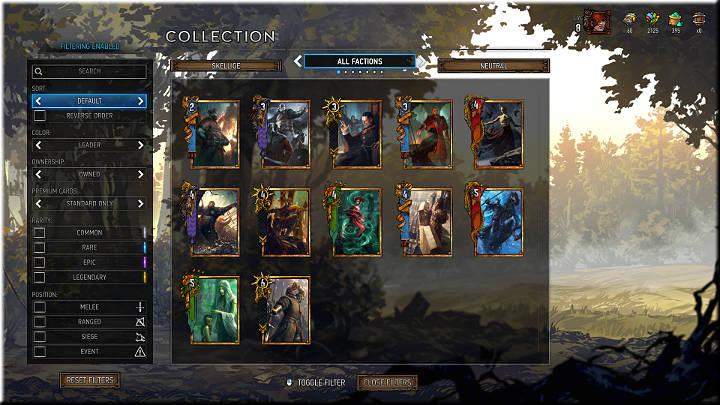 Líderes lideran su ejército - Grupos de tarjetas |  Tipos de tarjetas - Tipos de tarjetas - Gwent: The Witcher Card Game Guide