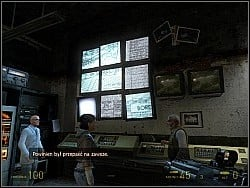 After watching it, Alyx's father will try start a conversation concerning you and Alyx - Our mutual friend p. II - Walkthrough - Half-Life 2: Episode Two - Game Guide and Walkthrough