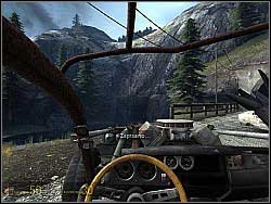When you get to the end of the river, turn left - Shotgun Ride p. I - Walkthrough - Half-Life 2: Episode Two - Game Guide and Walkthrough