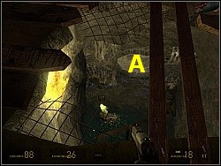 When you're in, go straight - To the White Forest p. II - Walkthrough - Half-Life 2: Episode Two - Game Guide and Walkthrough
