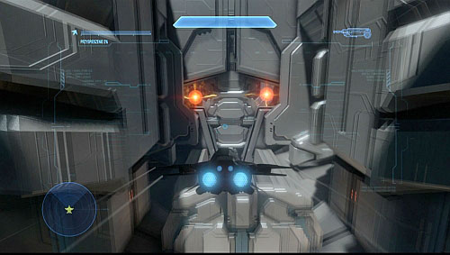 Get inside the ship | Midnight - Halo 4 Game Guide
