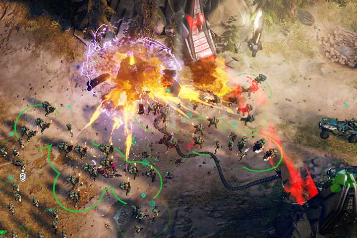 Destroy the generator and make way for your vehicles. - Mission 2 - A New Enemy | Campaign - Campaign - Halo Wars 2 Game Guide