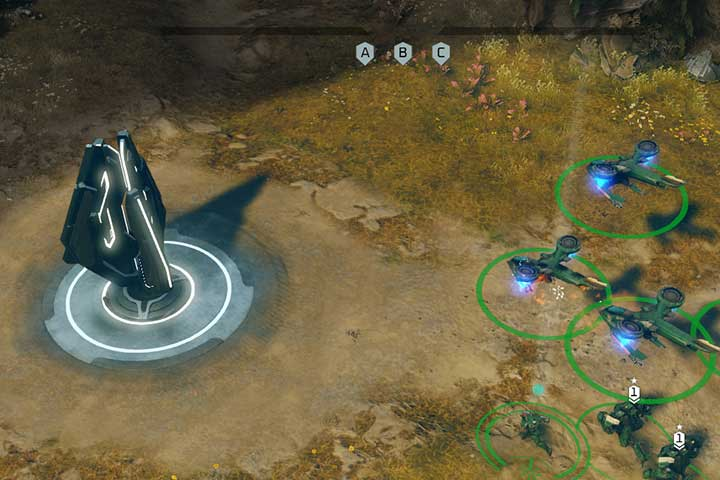 Only the infantry can take control over control points and energy extractors. - Mission 3 - Ascension | Campaign - Campaign - Halo Wars 2 Game Guide