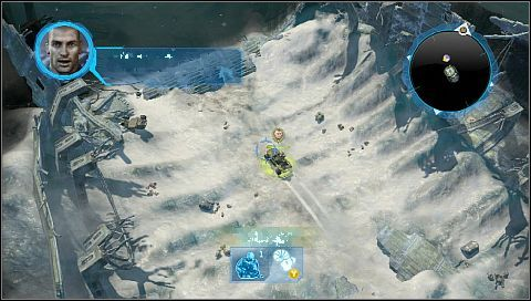 It's something like training mission - Mission 01 - Alpha Base - Missions - Halo Wars - Game Guide and Walkthrough
