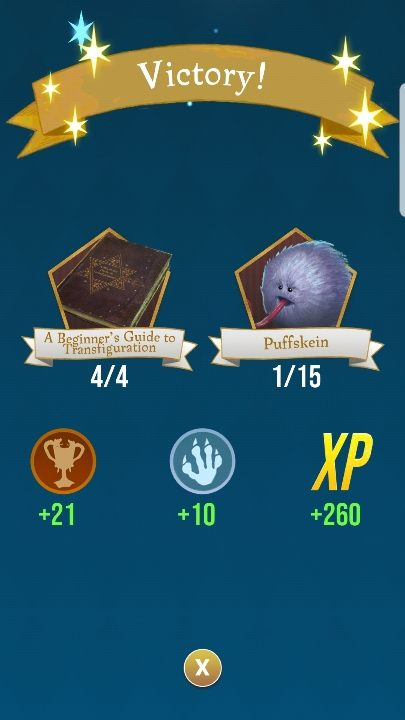 You get rewards for both winning and losing battles - Fortress | Harry Potter Wizards Unite - Locations - Harry Potter Wizards Unite Guide