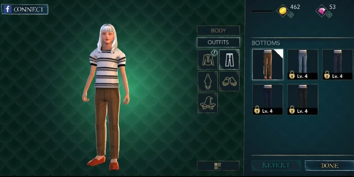 Colors Or Patterns Cannot Be Changed Clothes In Harry Potter The Hogwarts Mystery Basic