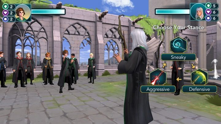 How to win a duel in Harry Potter The Hogwarts Mystery? - Harry