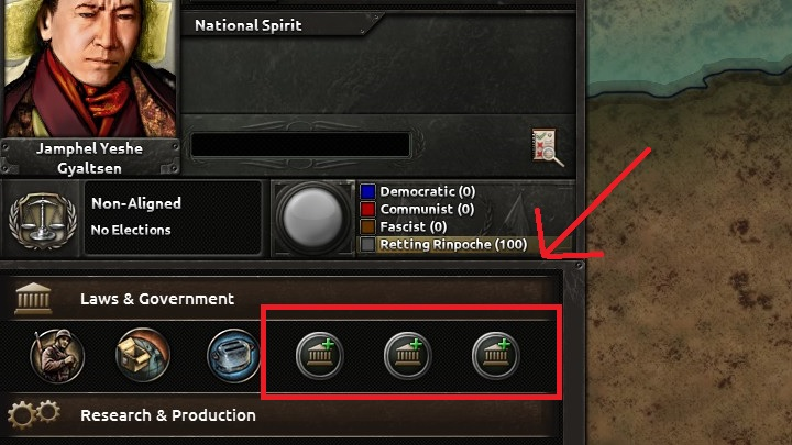 hoi 4 how to change ideology to unaligned