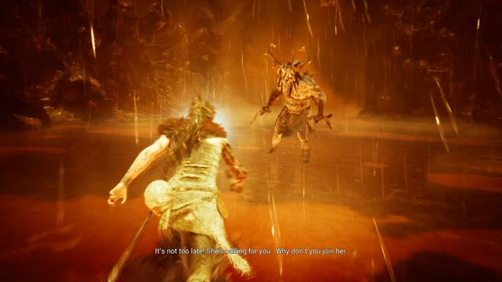 This enemy is very strong. - Fight with waves of enemies | Land of the dead | Walkthrough - Land of the dead - Hellblade: Senuas Sacrifice Game Guide