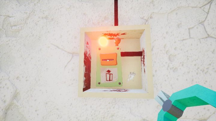 Then, by using the pliers shown in the picture, change the operation of the system - the lamp will light up green - Hello Granny Walkthrough - Hello Neighbor Game Guide