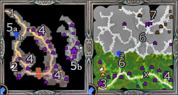 Hero: You will control all main heroes met in Hammers of Fate - Campaign 3, Mission 5 - The End - Campaign 3 - Ylaya's Task - Heroes of Might and Magic V: Hammers of Fate - Game Guide and Walkthrough