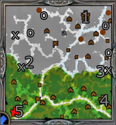 Hero: Wulfstan will reach the last, 29th experience level - Campaign 2, Mission 5 - Laszlo - Campaign 2 - Wulfstan's rebellion - Heroes of Might and Magic V: Hammers of Fate - Game Guide and Walkthrough