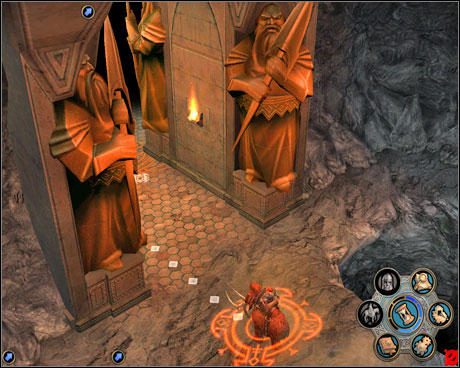 All who enter give up your hope. - Campaign 2, Mission 2 - Ambush - Campaign 2 - Wulfstan's rebellion - Heroes of Might and Magic V: Hammers of Fate - Game Guide and Walkthrough