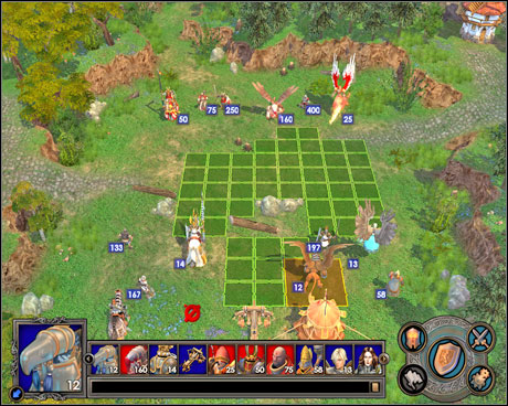 The garrison battle isn't too easy - Campaign 1, Mission 5 - Choice - Campaign 1 - Freyda's Dilema - Heroes of Might and Magic V: Hammers of Fate - Game Guide and Walkthrough
