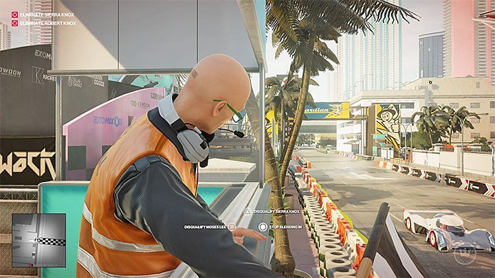 You can kill Sierra Knox by reaching the podium for a marshal - Hitman 2 Trophies - Achievements - Miami - Hitman 2 - Hitman 2 Guide