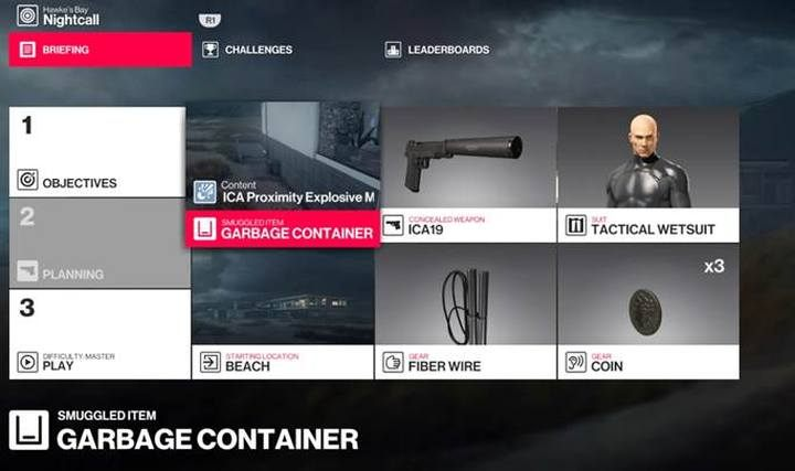 Starting and smuggling locations will be unlocked after the first completion of the mission. - How to smuggle useful items to mission area in Hitman 2? - FAQ - Hitman 2 Guide