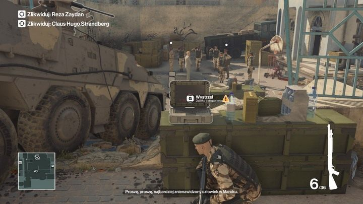 Activate the APC turret when both targets are in the yard - Hitman Legacy Trophies - Achievements - Marrakesh - Hitman Legacy - Hitman 2 Guide