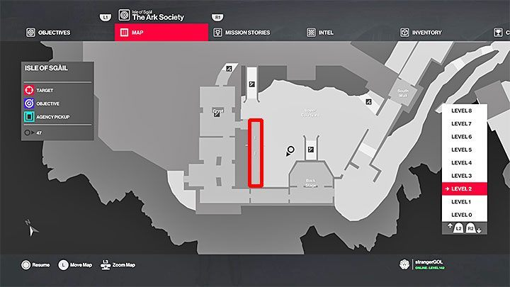 Obtaining your first disguise | The Ark Society mission in Hitman 2