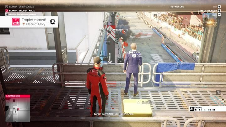 Watch as Robert blows Sierra up - Assassination of Sierra Knox | The Finish Line Mission in Hitman 2 - The Finish Line (Miami) - Hitman 2 Guide