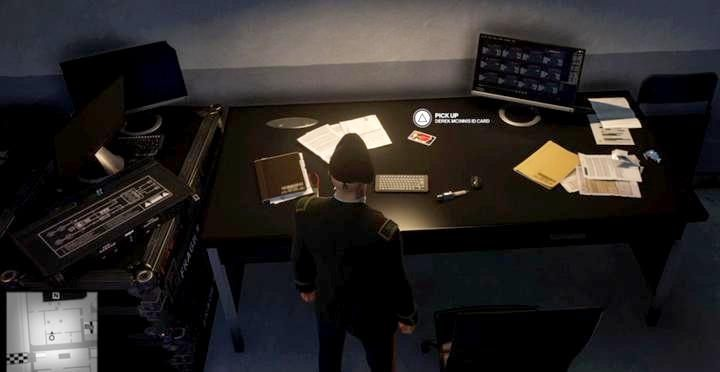 McInniss ID on his desk, behind the lab in the adjacent room. - Challenges - Feats | The Finish Line Mission in Hitman 2 - The Finish Line (Miami) - Hitman 2 Guide