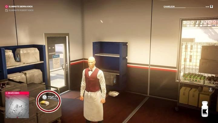 You can find sugar in the kitchen - the closest place to go is the paddock Kronstadt - Challenges - Feats | The Finish Line Mission in Hitman 2 - The Finish Line (Miami) - Hitman 2 Guide