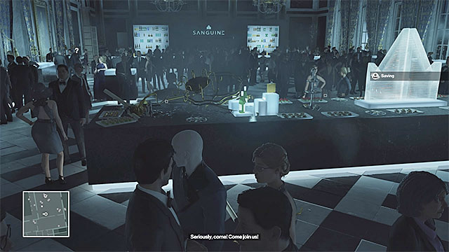If you drop the chandelier in the banquet hall, then innocents will probably die as well - Murdering Viktor Novikov | Paris: The Showstopper - Paris: The Showstopper - Hitman Game Guide