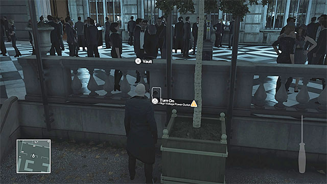 Start with turning the power off - Murdering Viktor Novikov | Paris: The Showstopper - Paris: The Showstopper - Hitman Game Guide