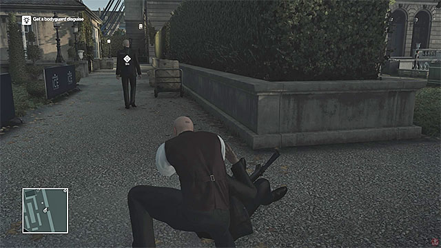 Neutralize one of the bodyguards and take his clothes - Murdering Viktor Novikov | Paris: The Showstopper - Paris: The Showstopper - Hitman Game Guide