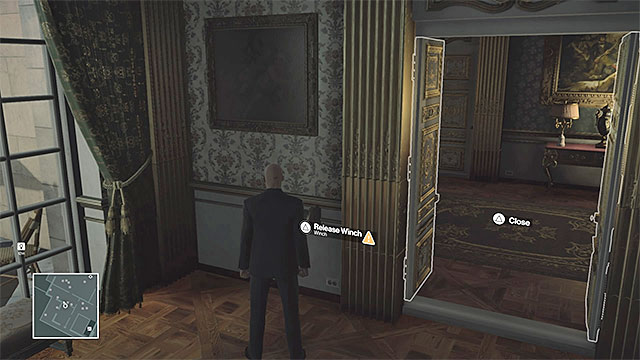 You can drop the chandelier in Dalias office. - Murdering Dalia Margolis | Paris: The Showstopper - Paris: The Showstopper - Hitman Game Guide