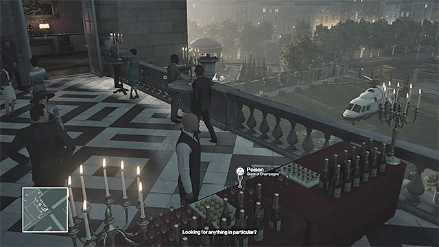 Pour the poison into Dalias drink. - Murdering Dalia Margolis | Paris: The Showstopper - Paris: The Showstopper - Hitman Game Guide