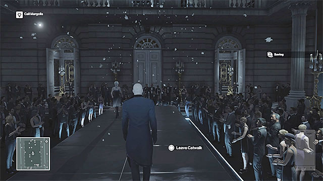 You have to present yourself on the catwalk. - Murdering Dalia Margolis | Paris: The Showstopper - Paris: The Showstopper - Hitman Game Guide