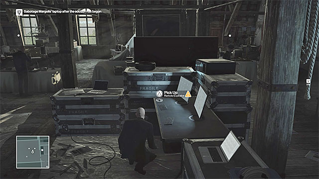 hitman how to use map